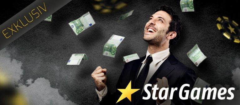 StarGames Bonus Code ohne Einzahlung