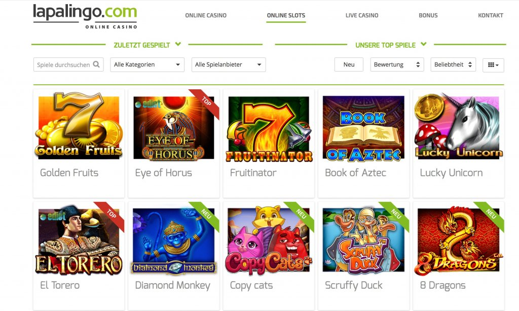 Online Casino Mit 5 Euro Einzahlung
