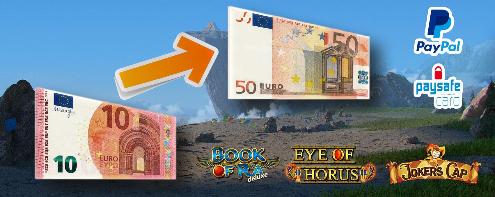 Casino 10 Euro Einzahlen 50 Euro