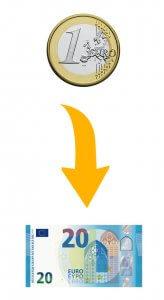 Casino 1 Euro Zahlen 20 Bekommen