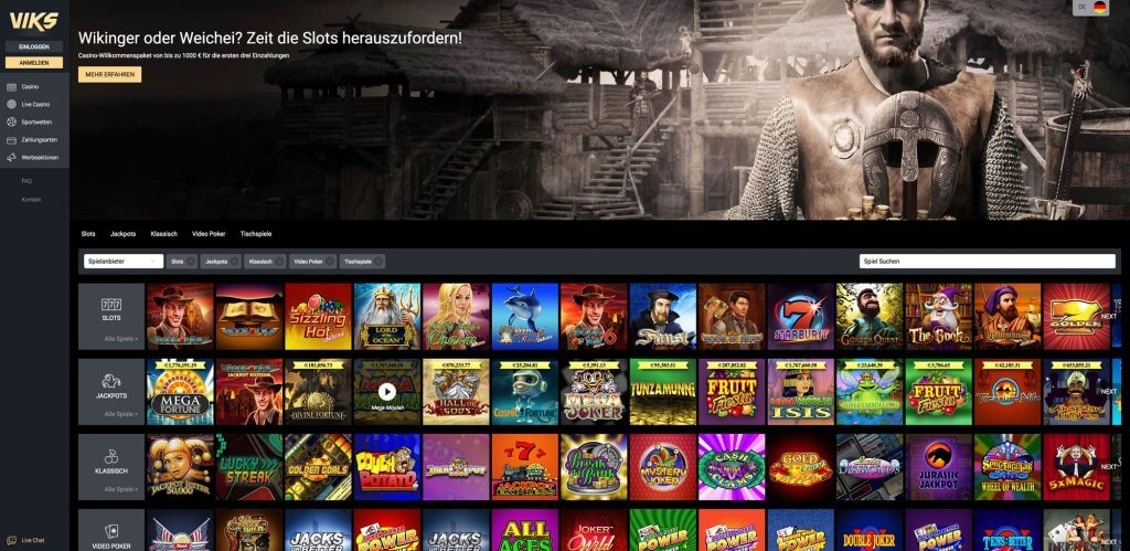 Viks erstes Novoline Casino mit Everymatrix Software