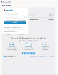 Stargames Paysafecard Einzahlung