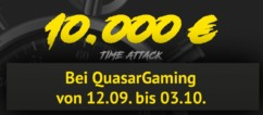 QuasarGaming Time Attack im September 2016 – So funktioniert der neueste Spezial Bonus